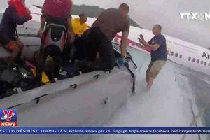 Tình hình 4 công dân Việt Nam trên máy bay gặp nạn tại Micronesia