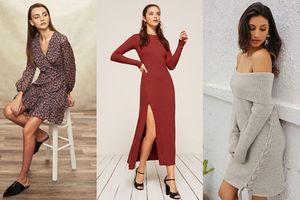 Tủ đồ mùa thu của bạn không thể thiếu những chiếc váy dài tay cực xinh này