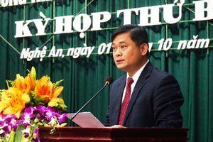 Ông Thái Thanh Quý được bầu làm Chủ tịch UBND tỉnh Nghệ An
