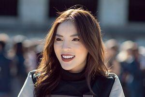 Kỳ Duyên xinh đẹp, rạng rỡ ngồi hàng ghế đầu xem show diễn 'Paris Fashion Week'
