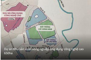 Tập đoàn Trung Thủy cho vay 59 tỷ đồng để đổi lấy gần 800 ha đất của Sagri?