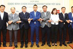 Công bố các doanh nghiệp vào Chung khảo Cuộc bình chọn Doanh nghiệp niêm yết 2018
