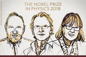 Nobel Vật lý 2018 gọi tên người phụ nữ thứ ba trong lịch sử 117 năm