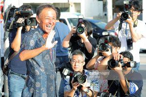 Tân thống đốc Okinawa phản đối sự hiện diện của căn cứ quân sự Mỹ
