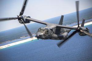Quân đội Mỹ lần đầu triển khai 'Chim ưng biển' Osprey ngoài Okinawa