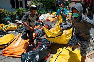 Đảo Palu hoang tàn sau thảm họa sóng thần ở Indonesia
