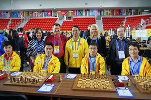Cờ vua Việt Nam nối lại mạch thắng Olympiad