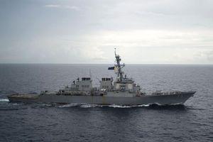 Tàu chiến TQ tiếp cận 'nguy hiểm' với tàu Mỹ trên Biển Đông