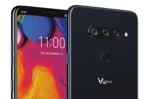 LG V40 ThinQ lộ diện với 5 camera