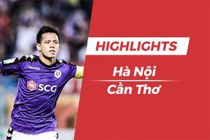 Highlights chiến thắng 3-0 của CLB Hà Nội trước Cần Thơ