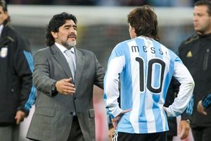 Diego Maradona khuyên Lionel Messi chia tay đội tuyển Argentina