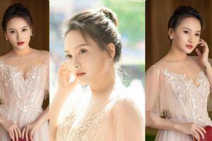 'Gái 1 con' Bảo Thanh mặc đầm công chúa xinh đẹp 'gây thương nhớ'