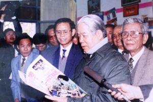 Mãi mãi nhớ ơn nhà lãnh đạo mẫu mực, người tâm huyết với sự nghiệp báo chí cách mạng!