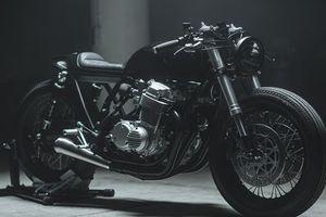 Honda CB750 độ đẹp ma mị nhờ loạt đồ chơi hàng hiệu