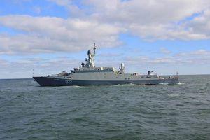 Tàu chiến chống ngầm Nga xuất hiện ngoài khơi Yemen