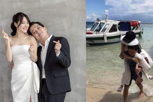 Trường Giang hạnh phúc du lịch cùng Nhã Phương sau khi kết hôn