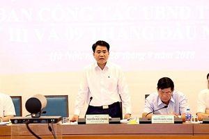 Hà Nội: Các chỉ tiêu phát triển kinh tế-xã hội trong 9 tháng đảm bảo đúng tiến độ