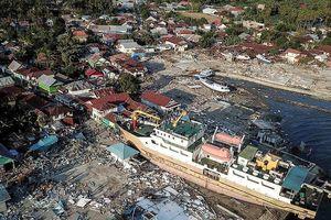 Sau động đất, Indonesia lại hứng dư chấn cực mạnh