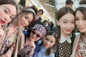 'Anh Lạc – Nhàn Phi' tỏa sáng xinh đẹp ở tuần lễ thời trang Paris