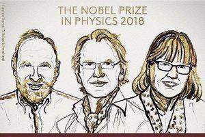 Lần thứ 3 trong lịch sử, giải Nobel Vật lý thuộc về nữ chủ nhân