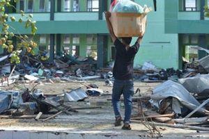 Indonesia bắt 35 người 'hôi của' sau động đất, sóng thần