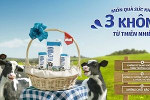 Quà tặng tháng 10 cùng sữa bột trẻ em và sữa bột pha sẵn Vinamilk