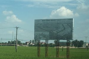 Tỉnh Hưng Yên 'giơ cao nhưng không đánh' với KCN Sạch Kim Động?