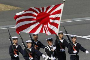 Nhật-Hàn bất đồng vì chuyện cờ hiệu Mặt Trời Mọc