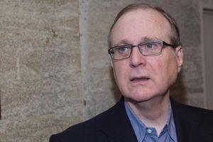 Tỷ phú đồng sáng lập Microsoft Paul Allen trong cuộc chiến ung thư