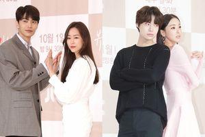 Họp báo 'The Beauty Inside': Seo Hyun Jin - Lee Da Hee xinh lung linh, tình tứ bên Lee Min Ki và Ahn Jae Hyun