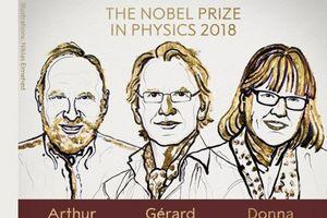 Người phụ nữ thứ ba giành giải Nobel Vật lý trong lịch sử 117 năm