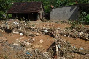Lũ quét bất ngờ, gây thiệt hại nặng cho người dân Lâm Đồng