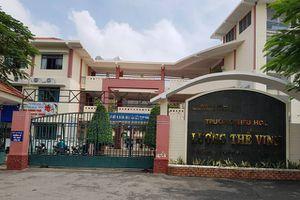 TP HCM: Đình chỉ thầy giáo tiểu học đá, tát học sinh