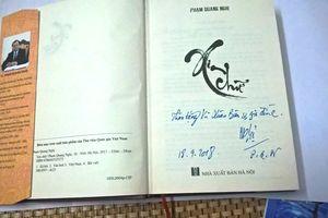 Đọc 'Xin chữ' của Phạm Quang Nghị: Tâm huyết với Hà Nội - Nặng lòng với quê hương