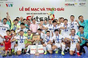 Giải Futsal VĐQG HDBank 2018: Thái Sơn Nam bảo vệ thành công ngôi vô địch