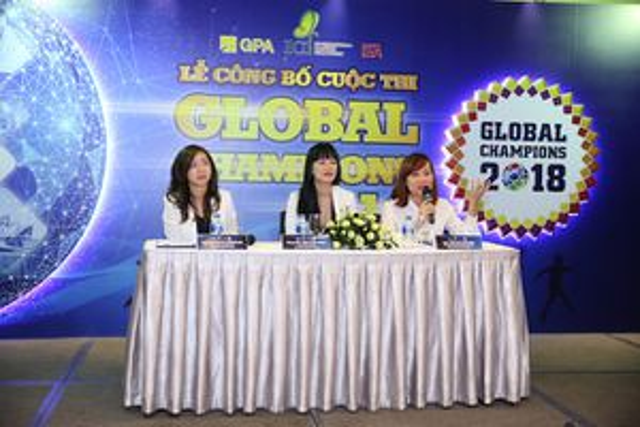 Global Champions 2018 - sân chơi kỹ năng độc đáo dành cho học sinh phổ thông