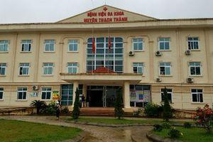 Sản phụ cùng thai nhi tử vong tại BVĐK Thạch Thành