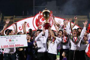 CLB Hà Nội hưởng trọn niềm vui trong ngày nâng cao chiếc cúp vô địch