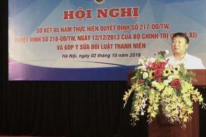 Sơ kết 5 năm thực hiện các Quyết định số 217, 218 của Bộ Chính trị