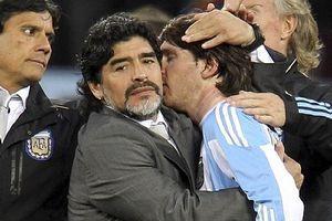 Maradona khuyên Messi 'đừng trở lại ĐT Argentina'