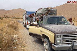 Hàng trăm người tị nạn Syria tại Lebanon tự nguyện hồi hương