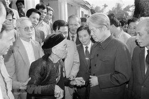 Nguyên Tổng Bí thư Đỗ Mười - Một tấm gương đạo đức cách mạng