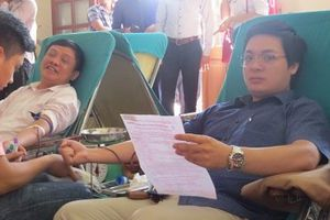 Hải Phòng: Gần 100 đơn vị máu được hiến tại ngày hội hiến máu