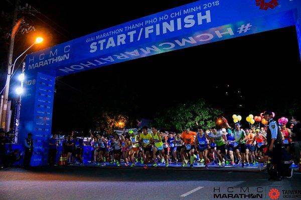 HCMC Marathon 2019 thu hút vận động viên của 33 quốc gia tham dự