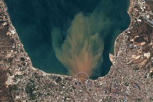 Chùm ảnh vệ tinh chụp Palu trước và sau động đất, sóng thần