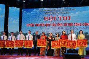 Chung khảo hội thi 'Tuyên truyền quy tắc ứng xử nơi công cộng trên địa bàn TP Hà Nội'