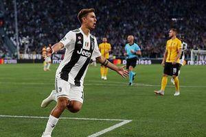 Vắng bóng Ronaldo, Dybala vẫn lập hat-trick giúp Juventus toàn thắng