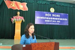 LĐLĐ tỉnh Sơn La tuyên truyền kết quả Đại hội XII Công đoàn Việt Nam