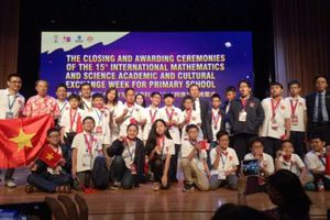 Lần đầu tiên học sinh Việt Nam giành 8 Huy chương Vàng Olympic Toán và Khoa học quốc tế