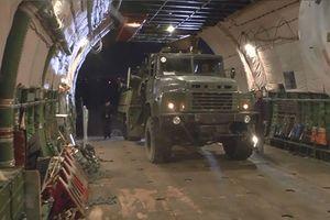 Nga công bố hình ảnh chuyển S-300 đến Syria